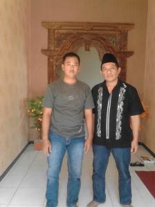bersama mas BUDI POPO admin grup facebook Alumni Aura Nusantara