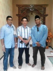 bersama alumni dari Malaysia